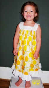 lemon dress1